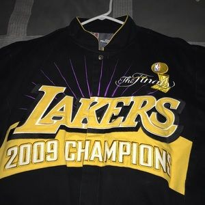 Lakers 2009 NBA Finals championship jacket